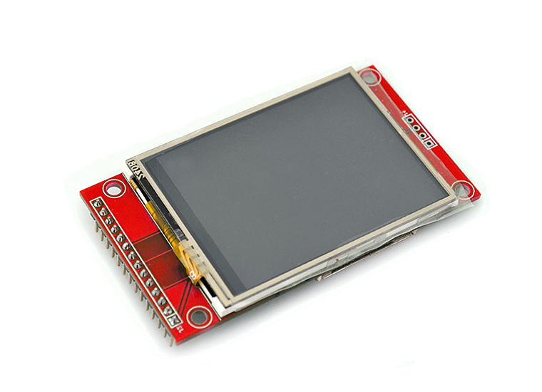 2 4 Touch Screen TFT LCD with SPI Interface, 240x320 [2 4-LCD-Module