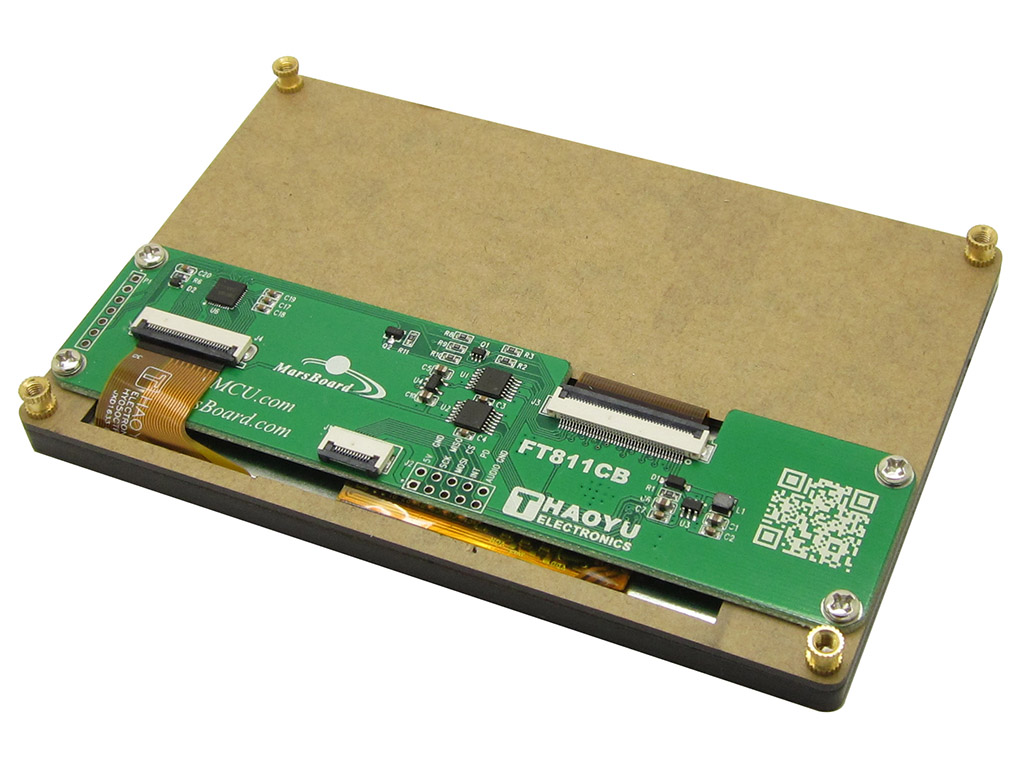 5 Graphical Lcd Capacitive Touch Screen 800x480 Spi