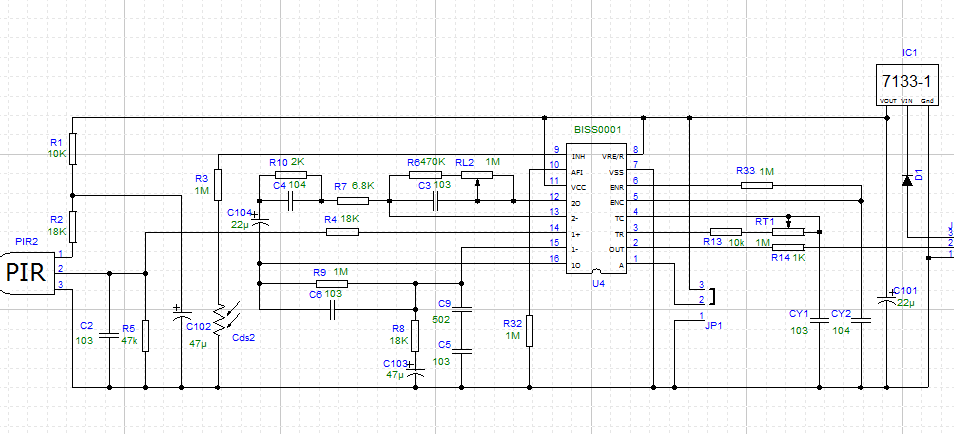 Hcsr505 Mini Pir Motion Sensor P 225 on motion detector circuit diagram