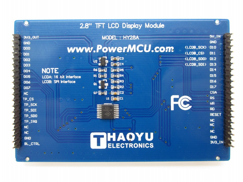 2 8 Touch Screen TFT LCD with SPI interface [HY28A-LCDB