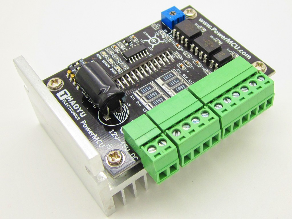 Tb6600 1 Axis Stepper Motor 2 Phase Driver Board For Cnc